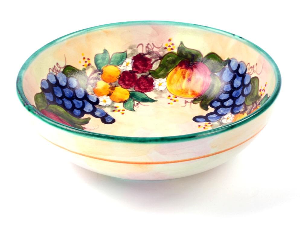Fruit Harvest - Green - Large Bowl, view 3