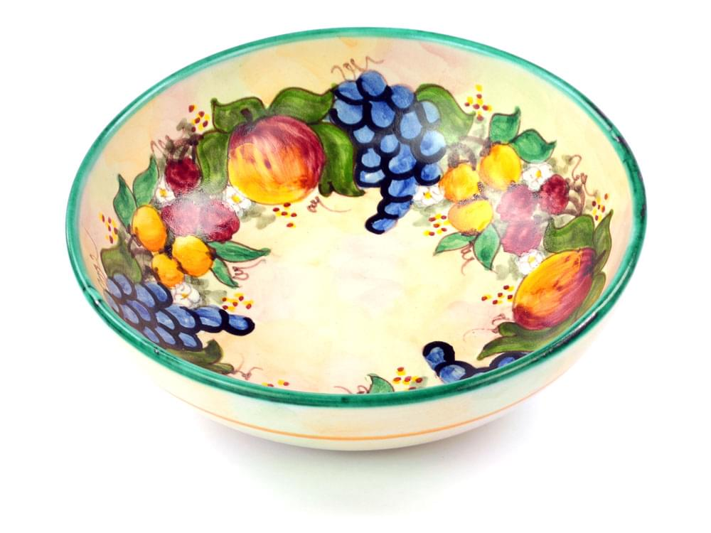 Fruit Harvest - Green - Large Bowl, view 1