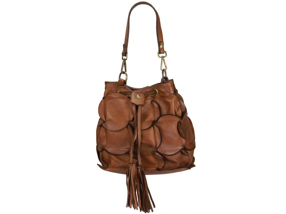 Italian leather shoulder bags