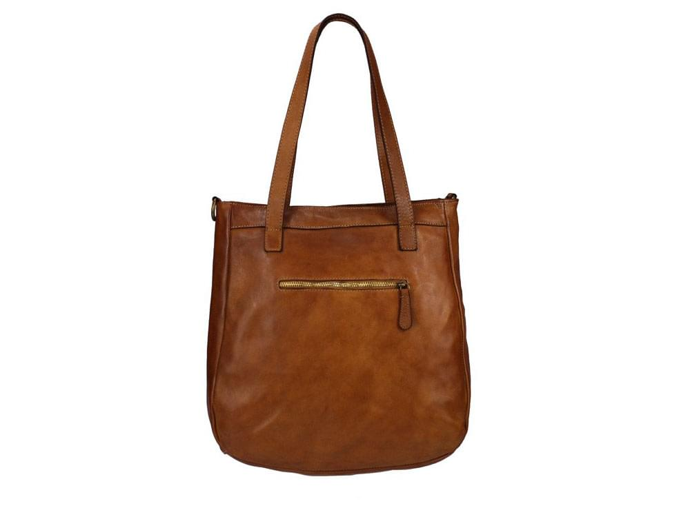 Leather shoulder bags from Italy