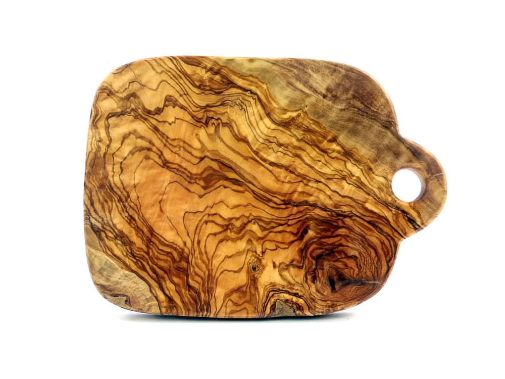 Small Olive Wood Chopping Board - view 2