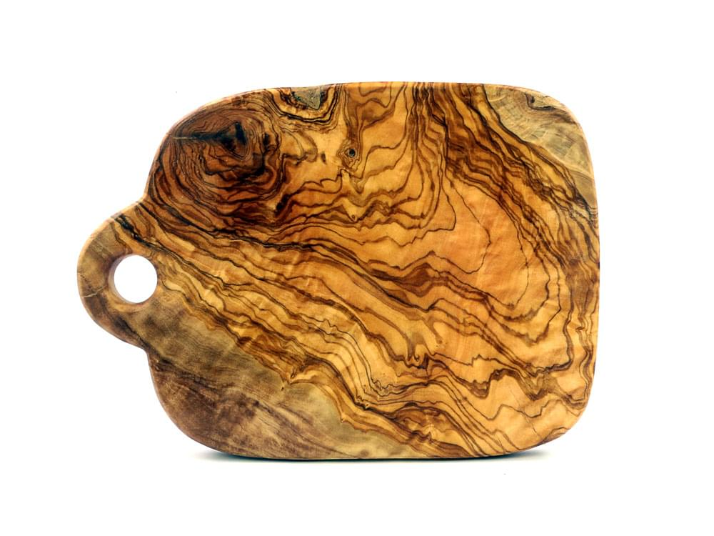 Small Olive Wood Chopping Board - view 4
