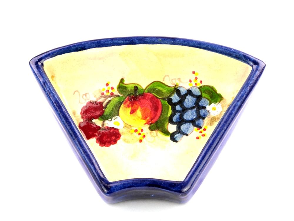 Rustic Antipasti Dish - Fruit Harvest - Blue