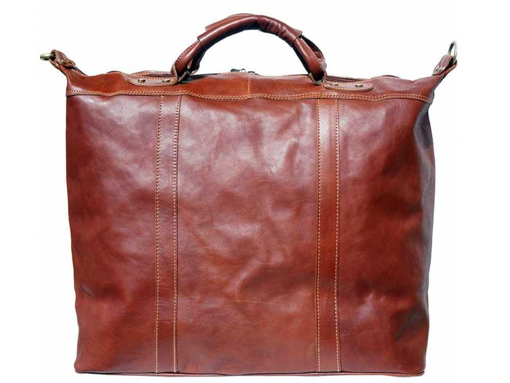 Jesi (brown) - ideal for air travel and weekends away - back view