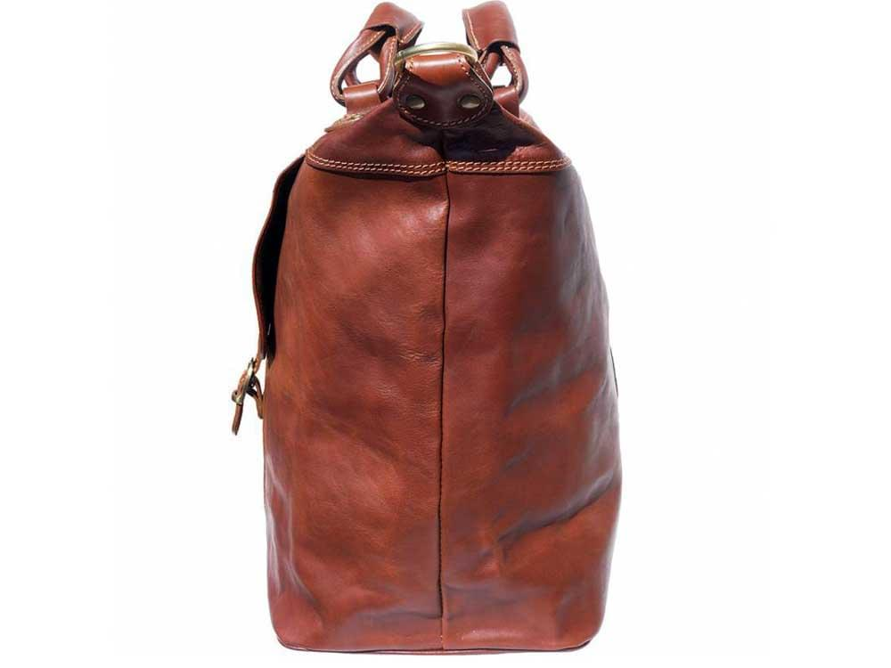 Jesi (brown) - ideal for air travel and weekends away - side view