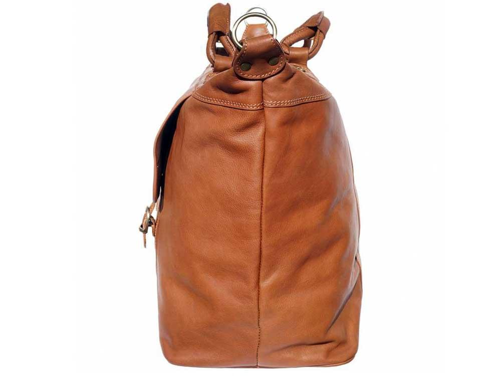 Jesi (tan) - ideal for air travel and weekends away - side view
