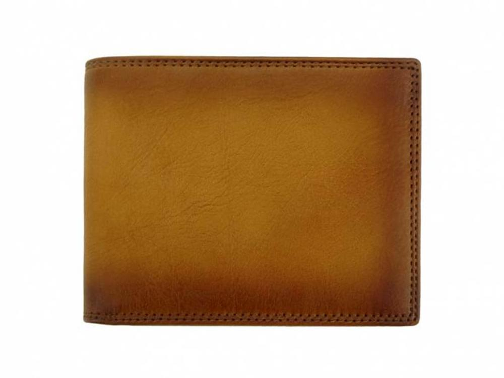 Men's leather billfolds from Italy