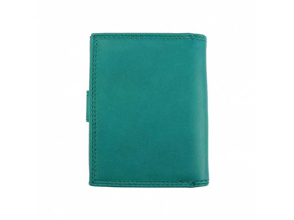 Womens Wallets Gaia (turquoise) - Small, neat leather wallet