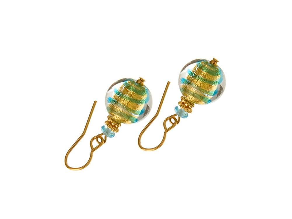 Subacqueo - subtle and delicate Murano glass earrings