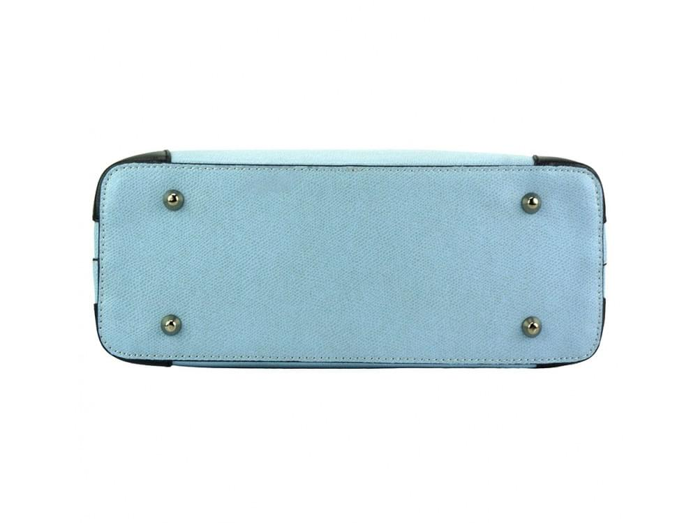 Oristano (pale blue) - New design, luxury leather bag - base