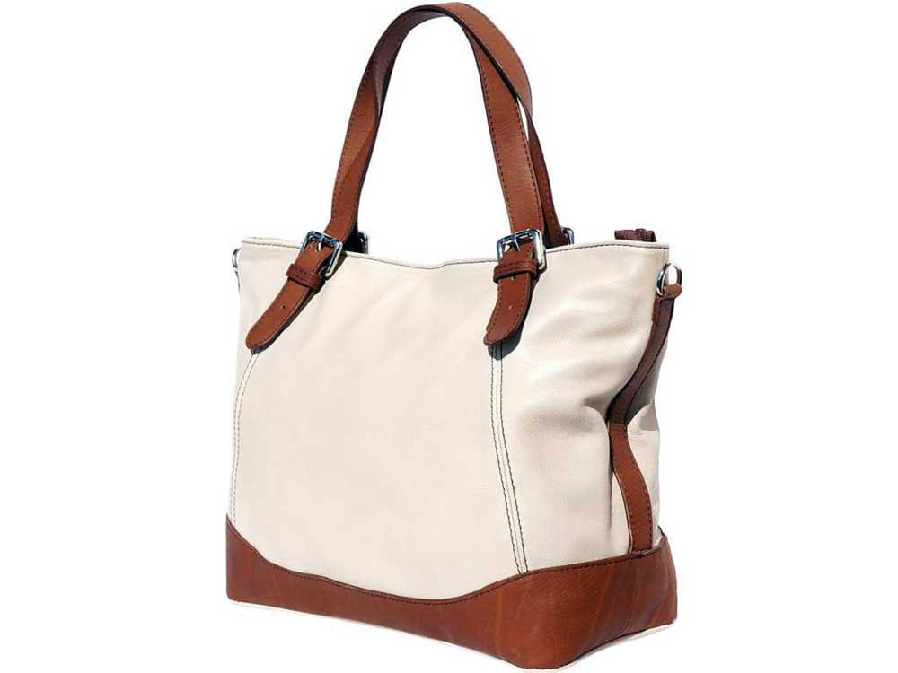 Otranto - tote bag in soft Italian calf leather