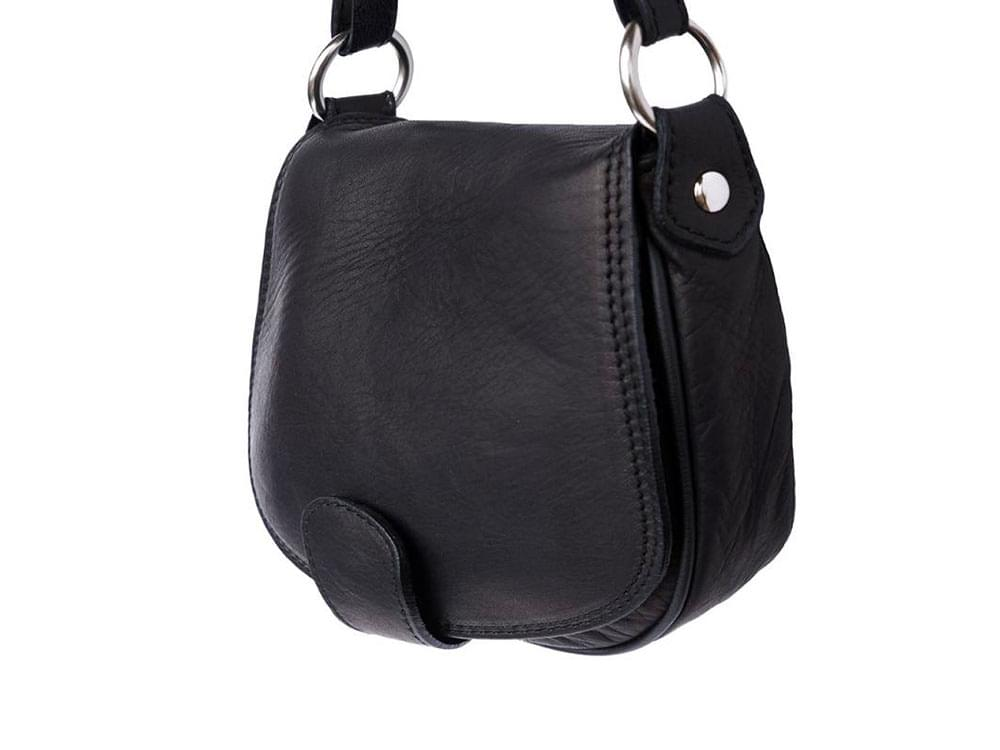 Lodi - soft leather cross-body bag with a long strap
