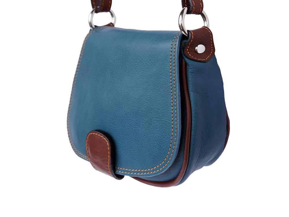 Lodi - soft leather cross body bag with long strap