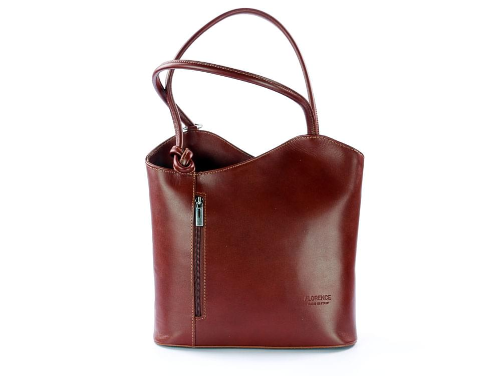 Italian leather versatile bag, italian leather versatile bags