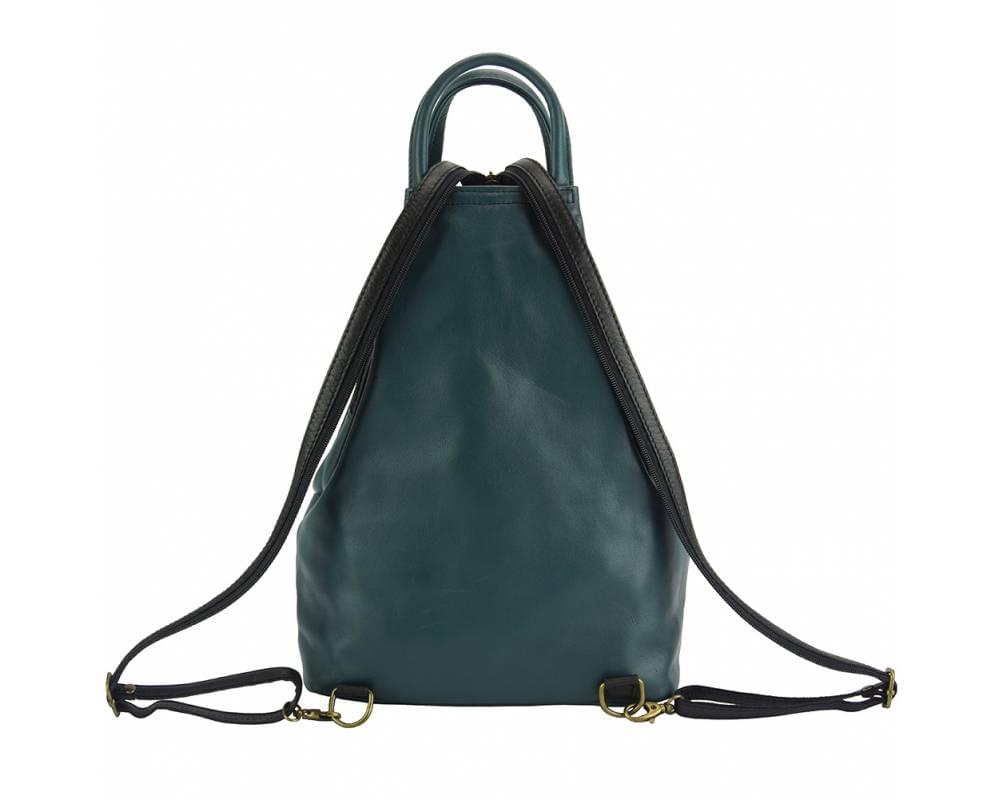 Biella - perfect everyday bag - with the strap unzipped forming the backpack configuration