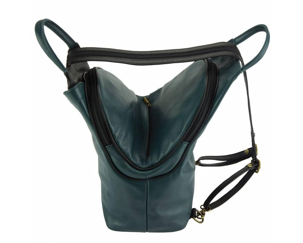 Biella - perfect everyday bag - showing the wide opening