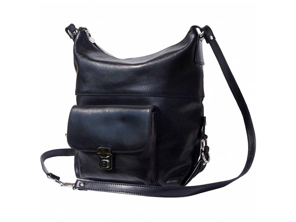 Spoleto - multifunctional and stylish bag - with the straps in the shoulder bag configuration