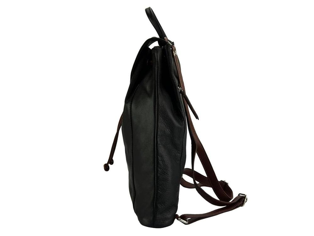 Lucca - one of the best leather backpacks on the market - side view