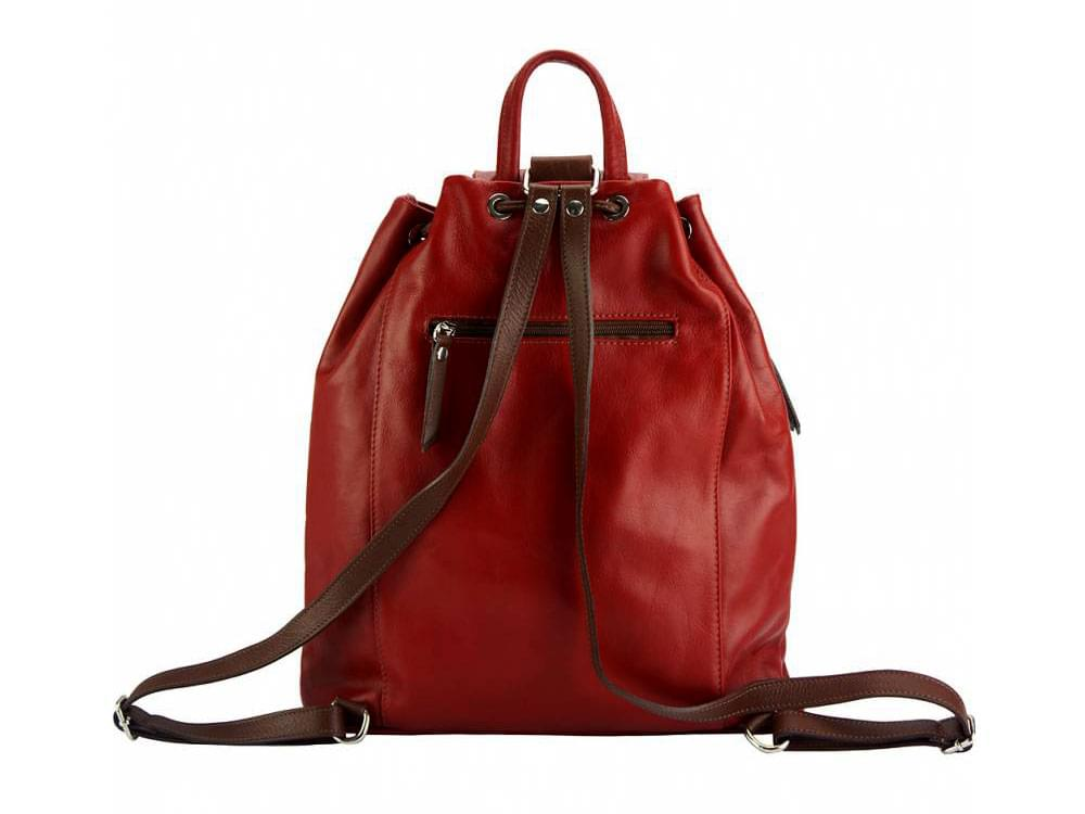 Lucca - one of the best leather backpacks on the market - back view