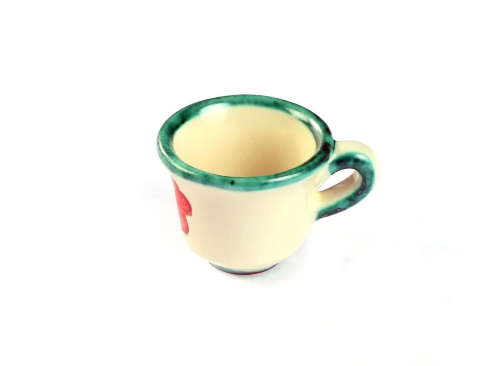 Poppy Espresso Set - coffee cup, side view