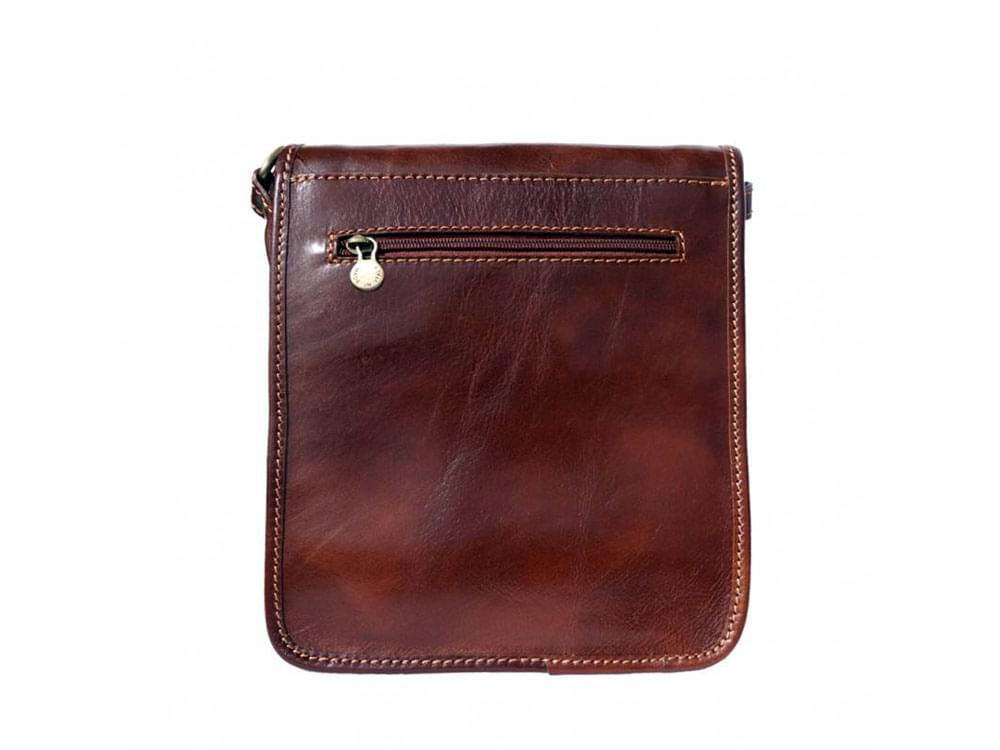 Padula - small, calf leather shoulder bag - back view