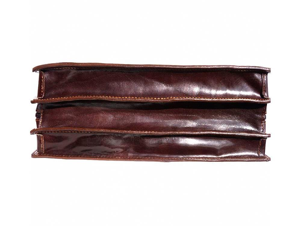 Potenza - rigid calf leather business bag - the base