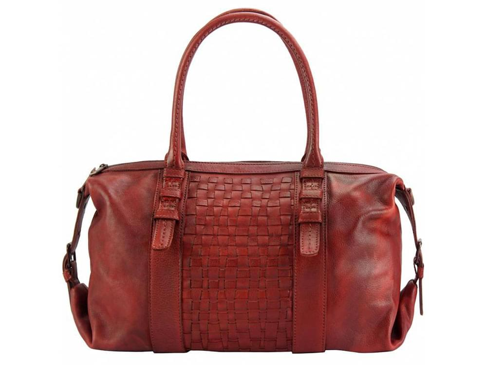 Cagliari - an exciting new design in vintage leather - front view