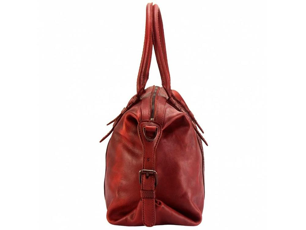 Cagliari - an exciting new design in vintage leather - side view