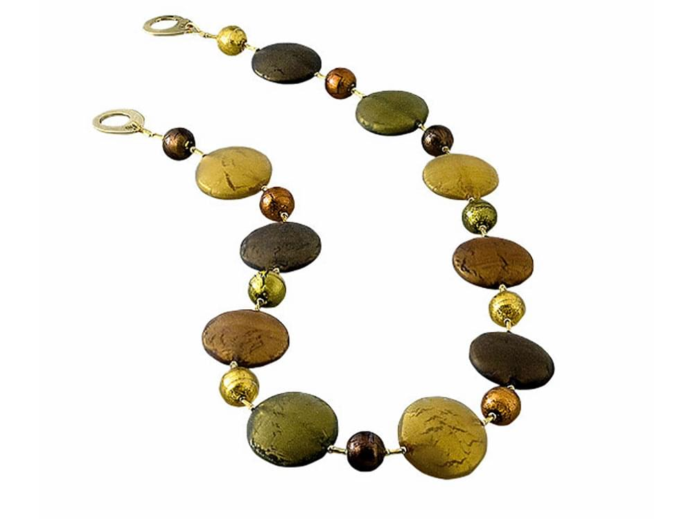 Solare Set with short necklace - the necklace
