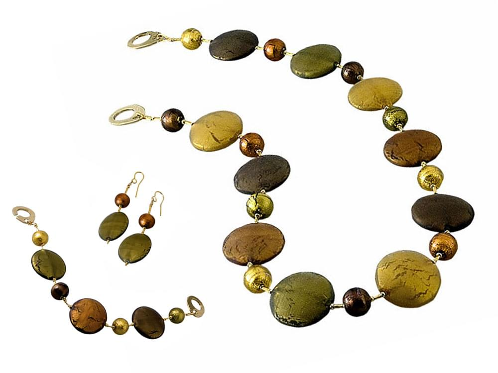 Solare Set with short necklace