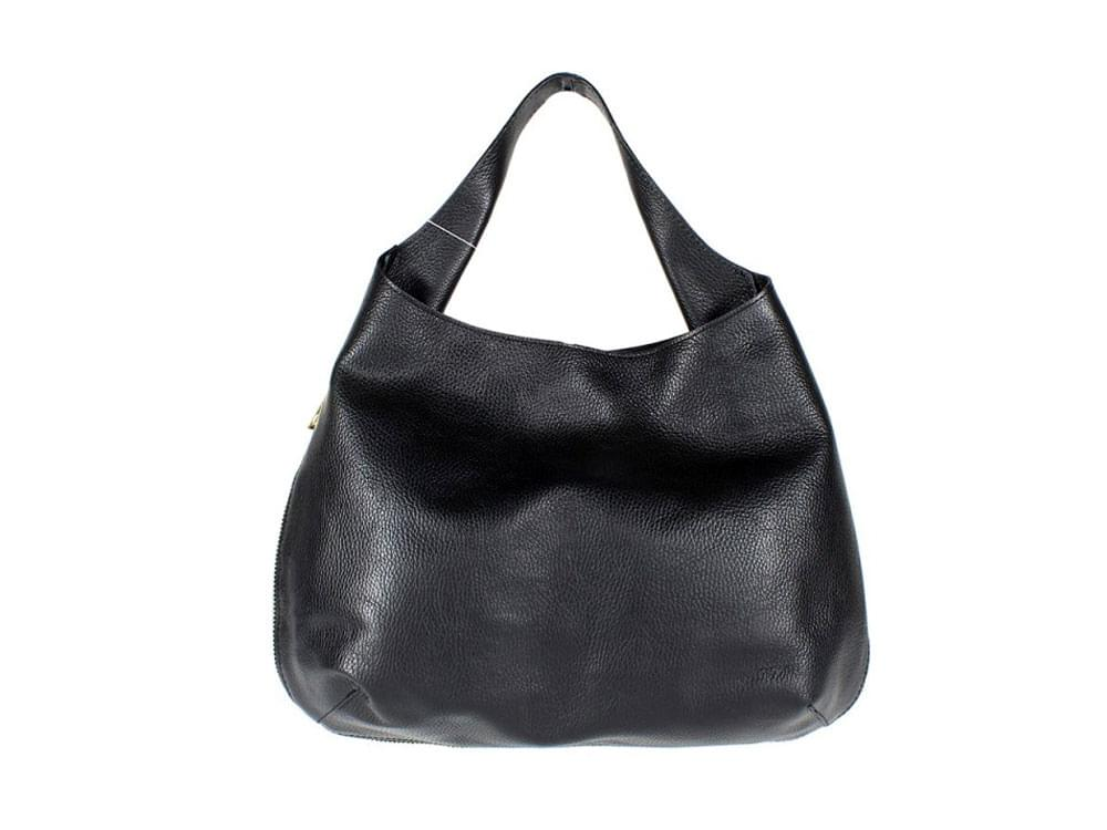 Rapallo - large, soft leather shoulder bag