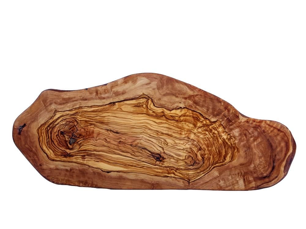 Large rustic olive wood chopping board