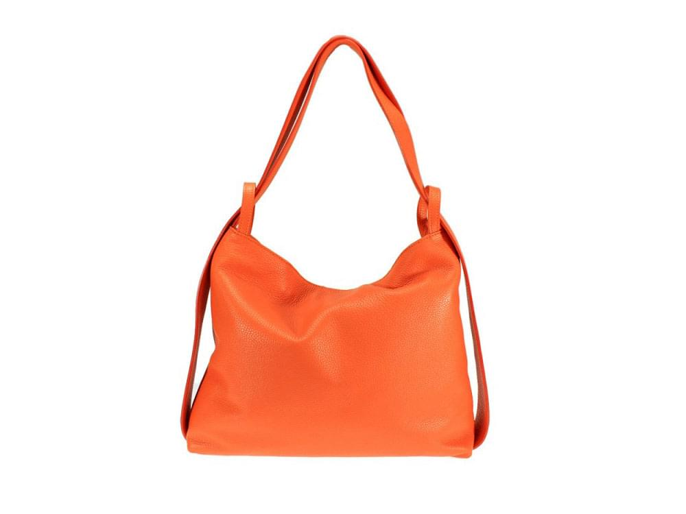 Burano - Versatile leather bag in many colours