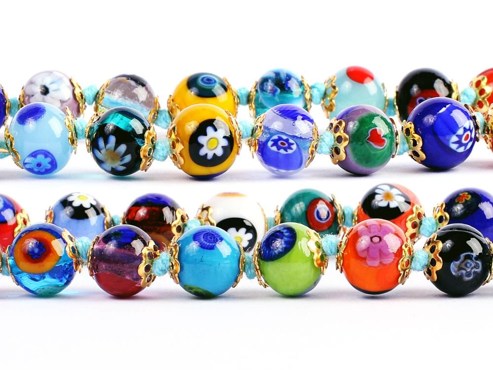 Showing detail of some of the beads