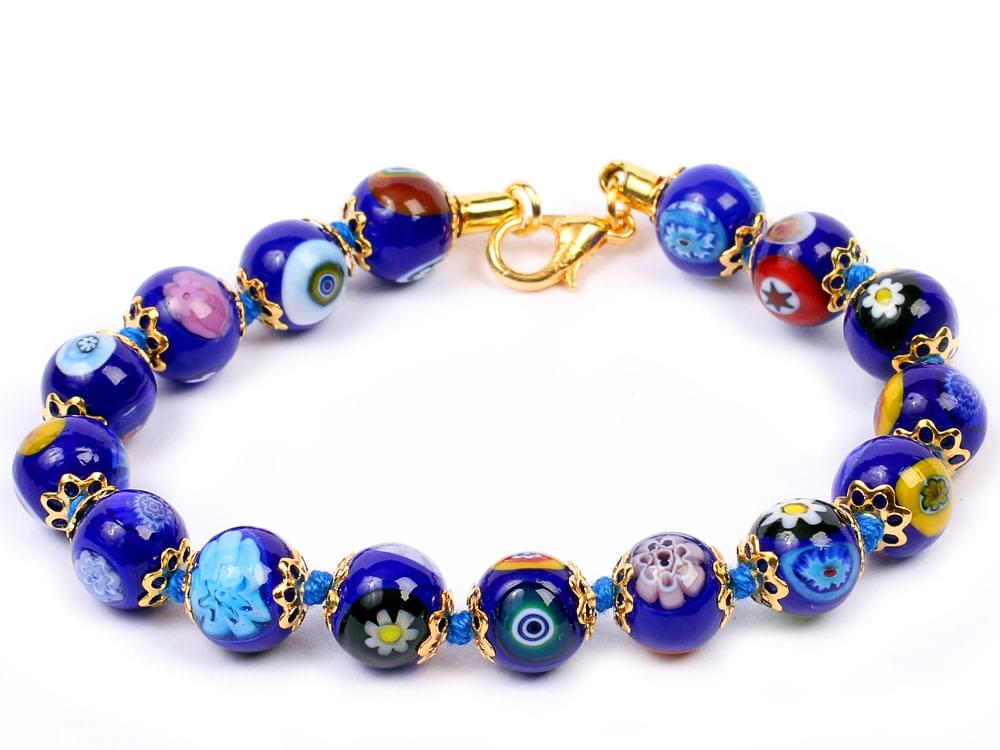 Mosaica - Murano glass beads in strong colours