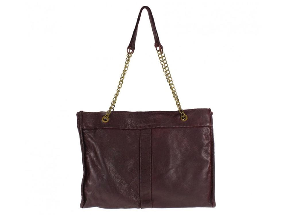 Melfi - large, slim, calf leather shoulder bag