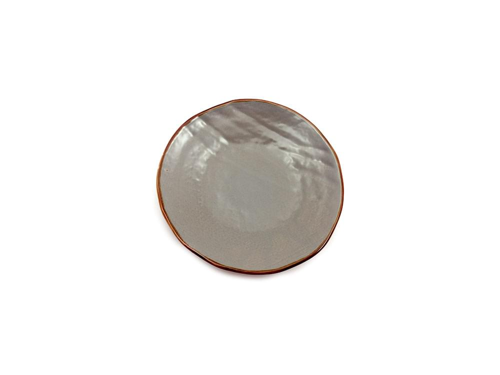 Shades of Tuscany - 20cm plate - stone