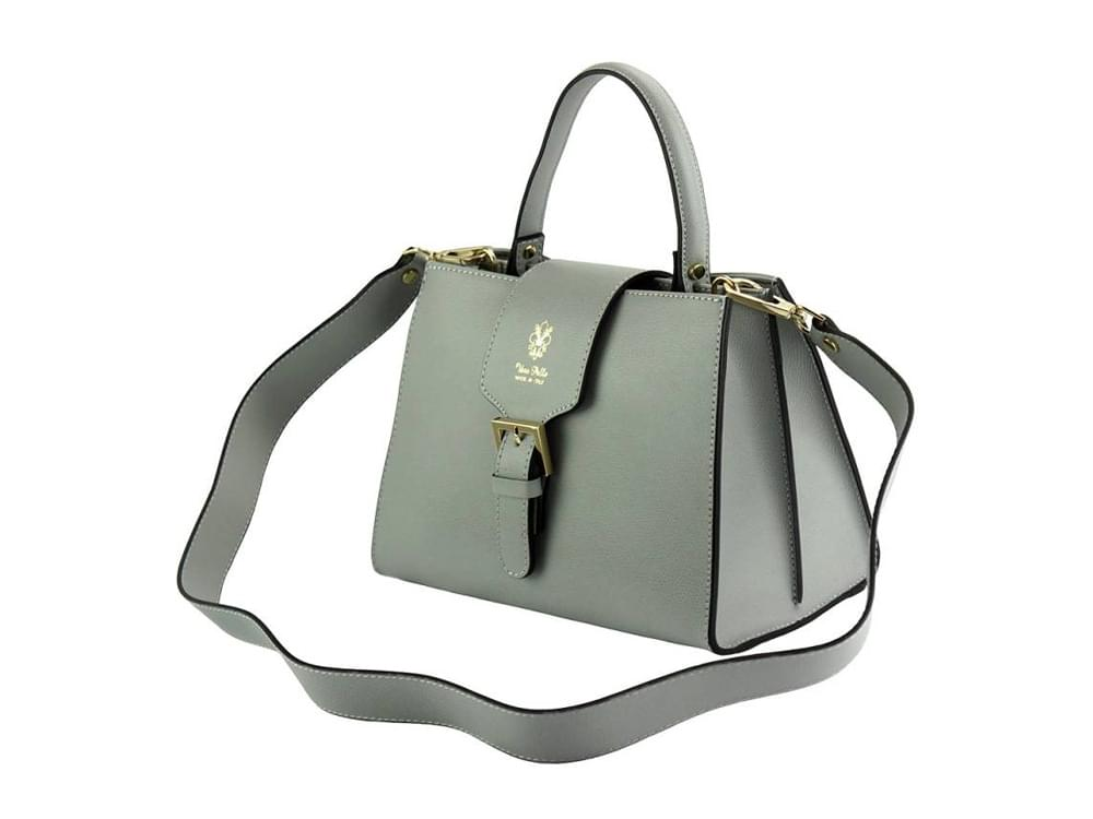 Montone - timeless design with modern details -  with the detachable leather shoulder strap