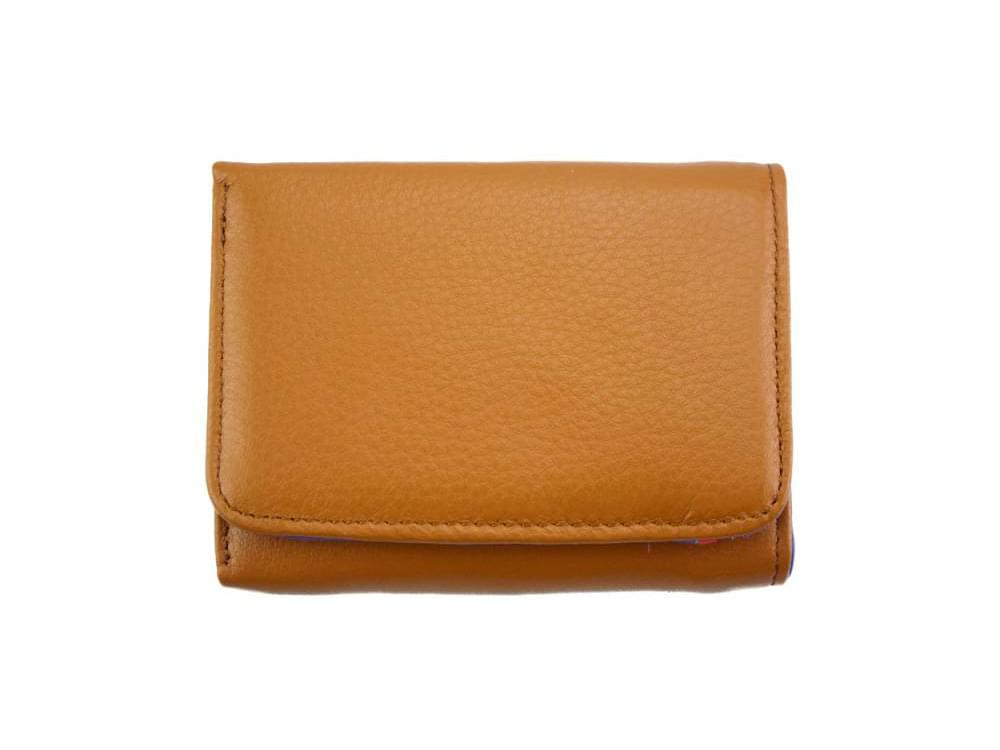 Sofia - colourful, optimal small wallet - back view