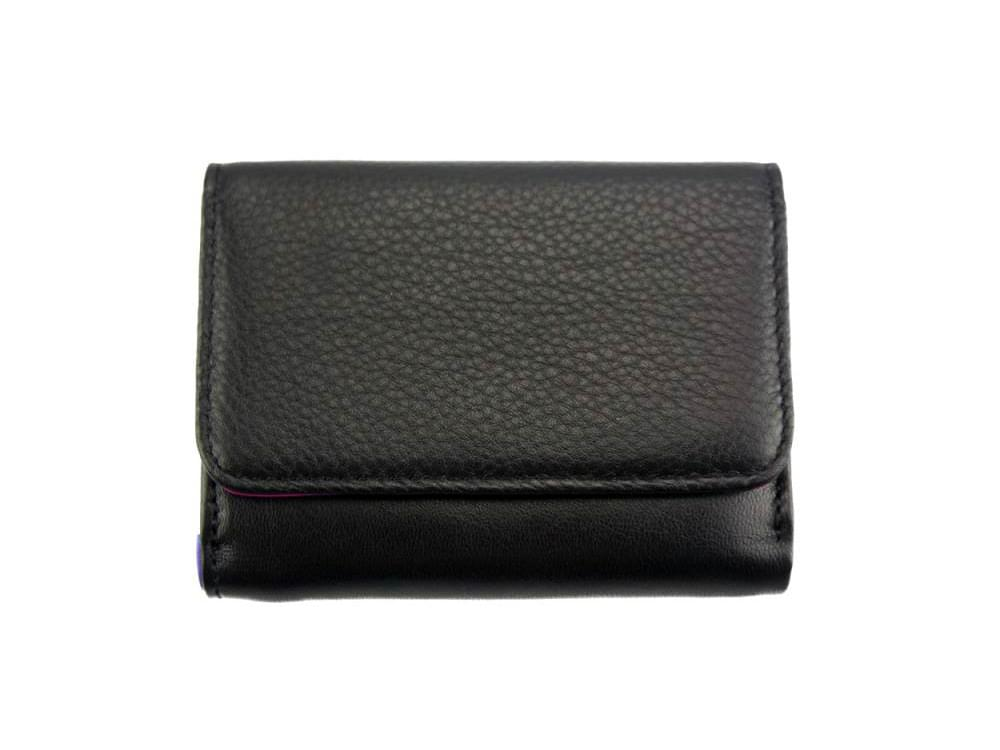 Sofia - colourful, optimal small wallet - front view