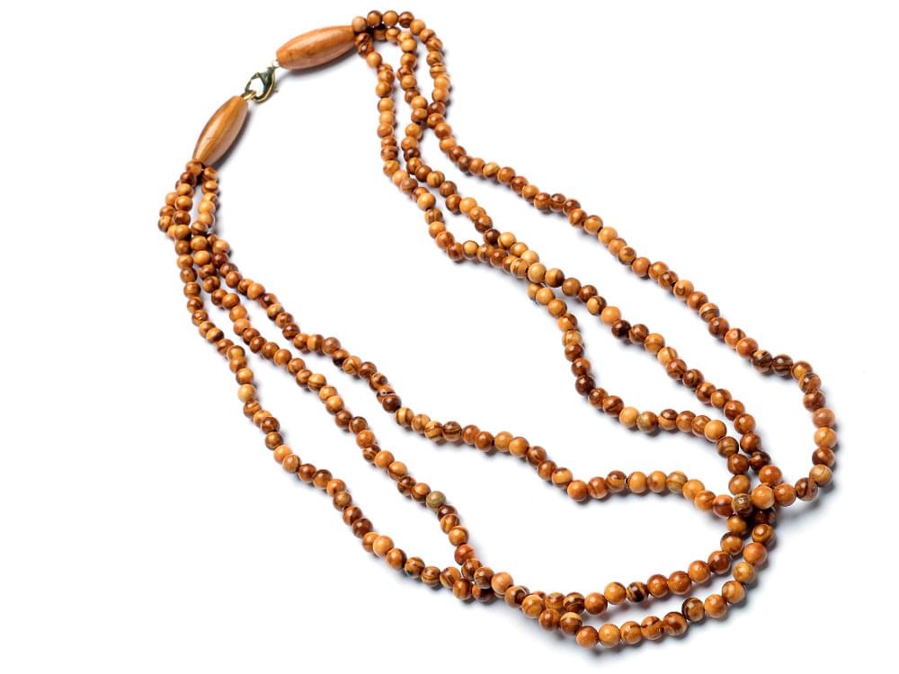 Triple Strand Necklace - 1