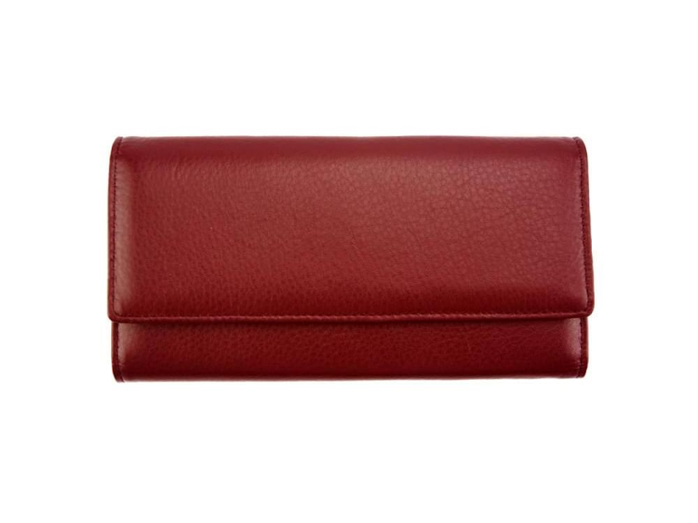 Anna - slim, luxurious, high capacity wallet - front view