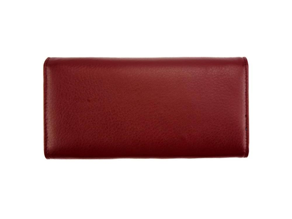 Anna - slim, luxurious, high capacity wallet - back view
