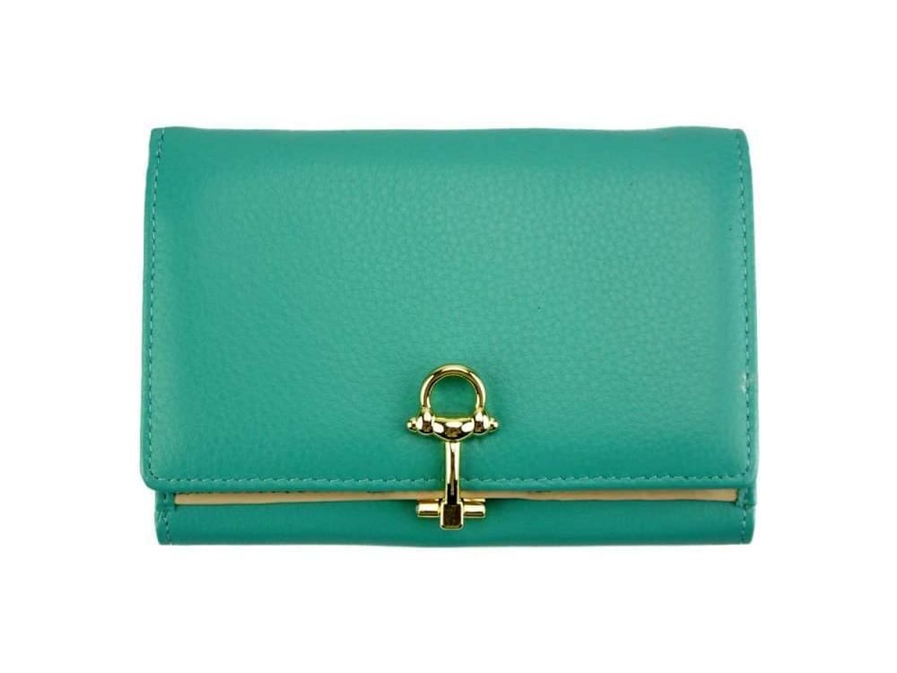 Maria - slim, colourful wallet with large capacity - front view