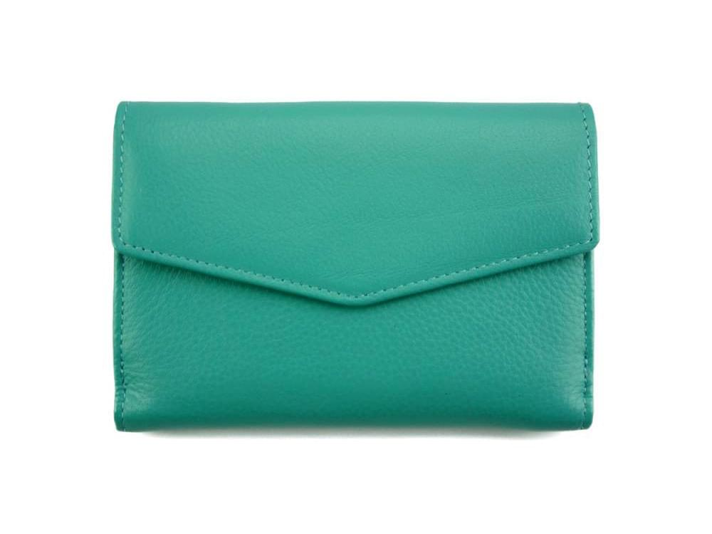 Maria - slim, colourful wallet with large capacity - back voew
