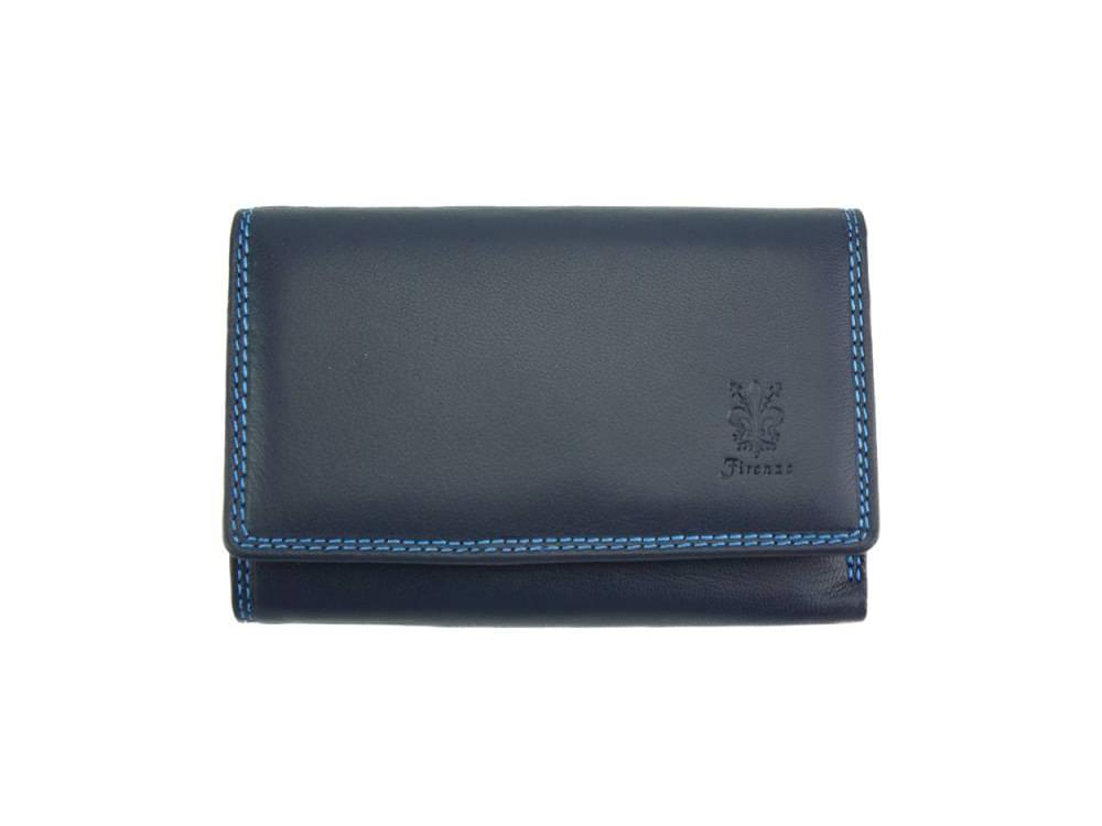 Filomena - refined and sophisticated luxurious leather wallet - front view