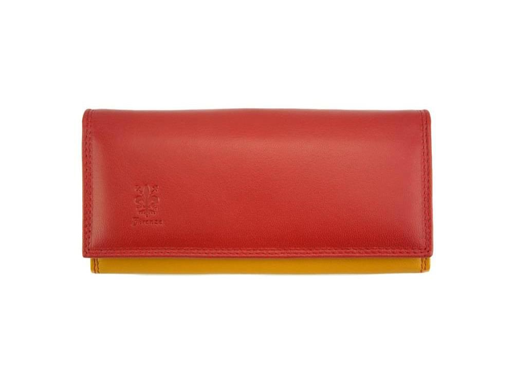 Allegra - colourful, elegant and functional wallet - front view