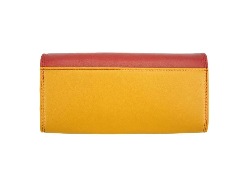 Allegra - colourful, elegant and functional wallet - back view