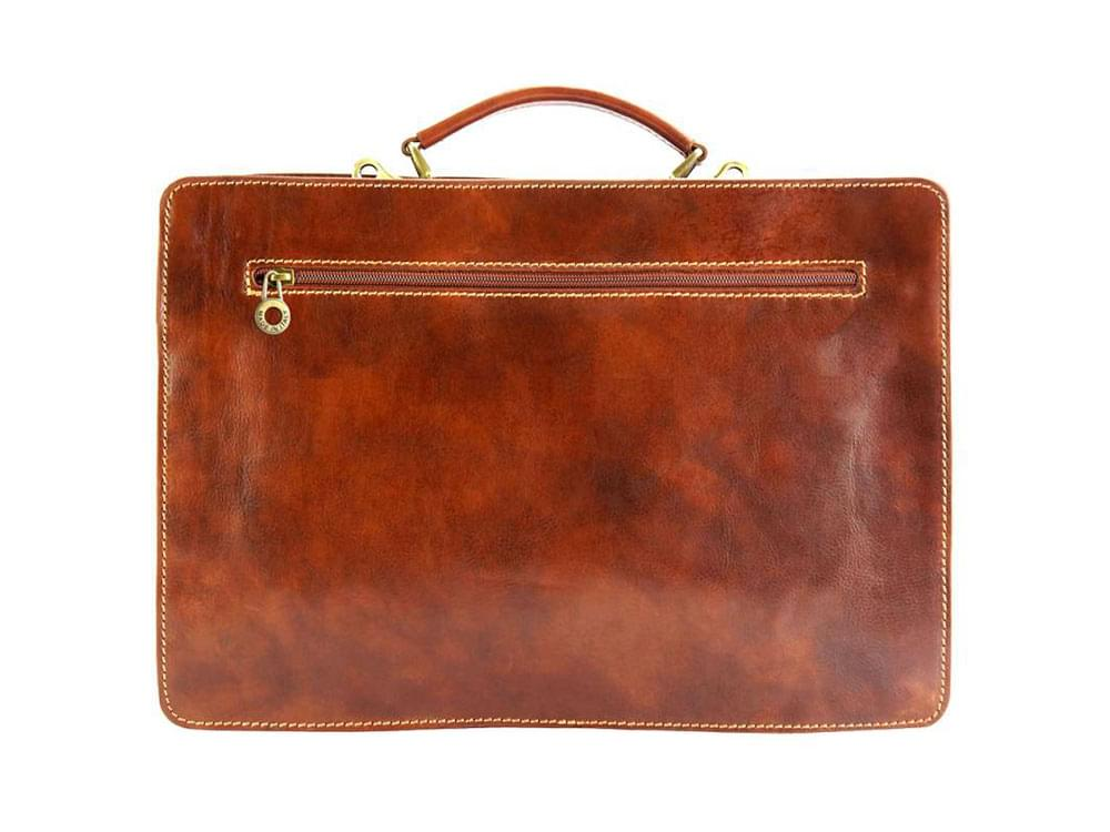 Viterbo - practical and durable briefcase - back view