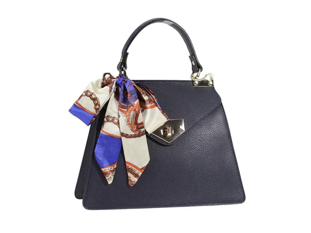 Fiesole - pretty leather handbag and matching scarf
